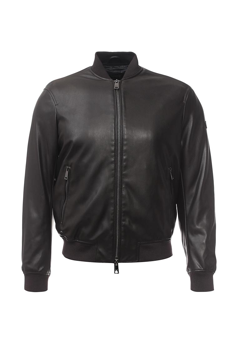 Кожаная куртка Armani Jeans (Армани Джинс) 6Y6B64 6EAAZ