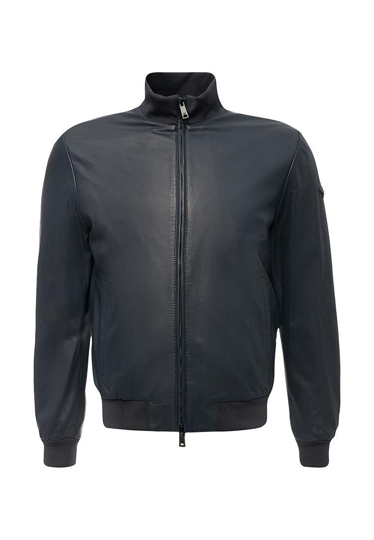Кожаная куртка Armani Jeans (Армани Джинс) zgb01p ZGP01