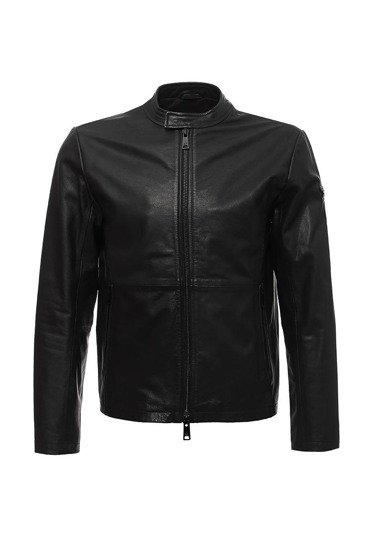 Кожаная куртка Armani Jeans (Армани Джинс) zgb08p ZGP06