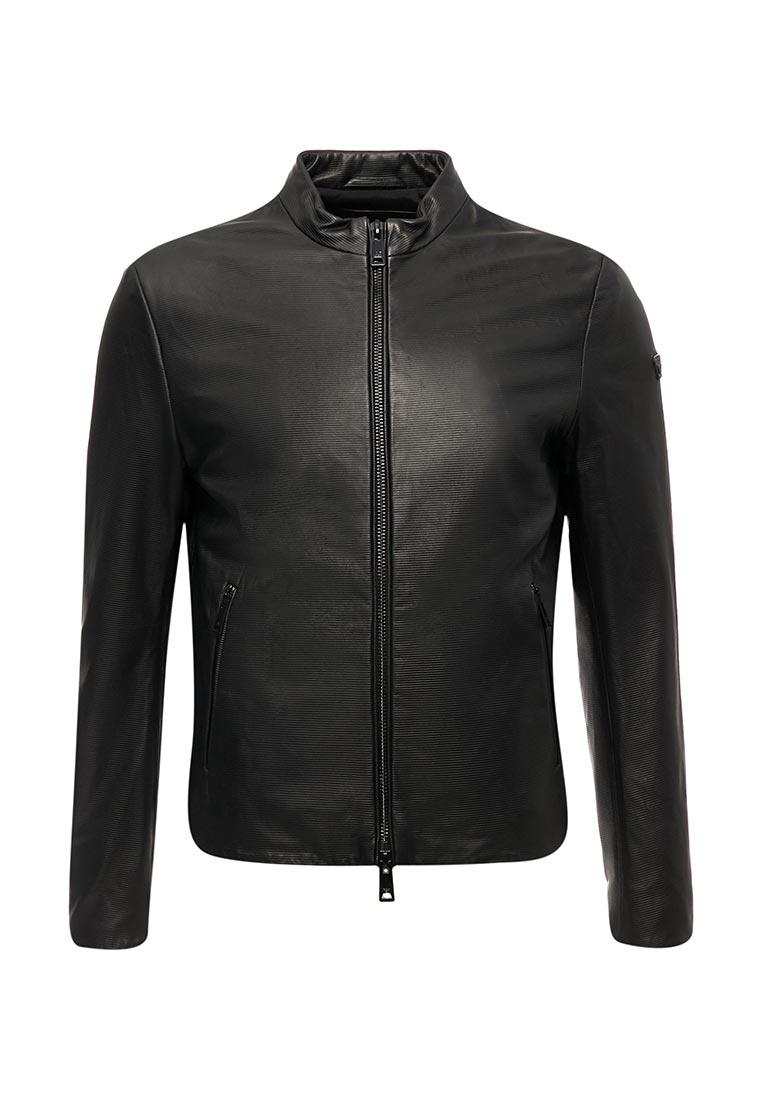 Кожаная куртка Armani Jeans (Армани Джинс) zgb05p ZGP04