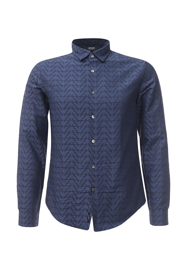 Рубашка с длинным рукавом Armani Jeans (Армани Джинс) 6y6c09 6NMEZ