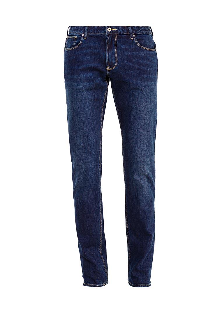 Мужские прямые джинсы Armani Jeans (Армани Джинс) 6y6j06 6delz