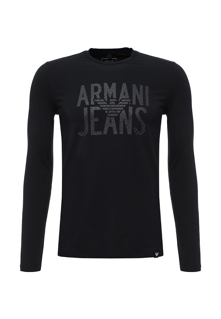 Футболка с длинным рукавом Armani Jeans (Армани Джинс) 6y6t73 6J0AZ