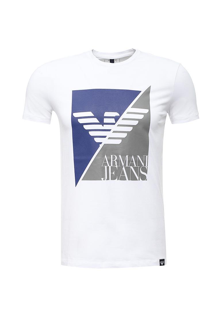 Футболка Armani Jeans (Армани Джинс) 6y6t11 6J0AZ