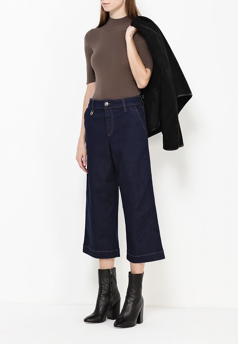 Широкие и расклешенные джинсы Armani Jeans (Армани Джинс) 6X5P01 5D00Z: изображение 6