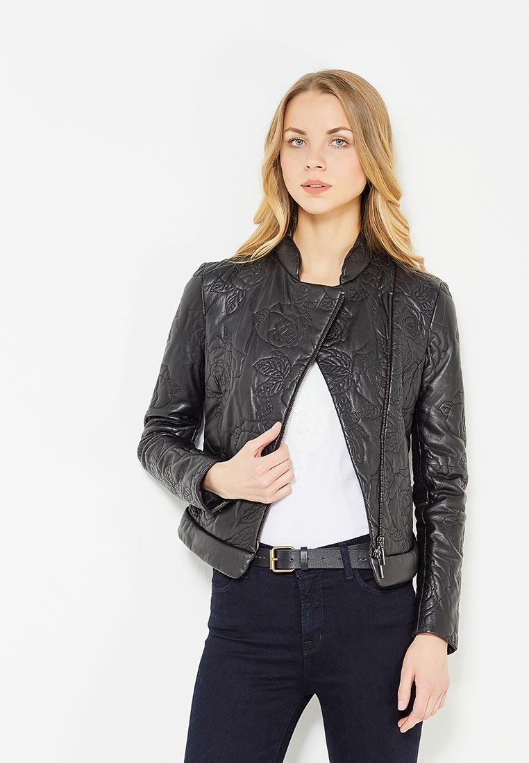 Кожаная куртка Armani Jeans (Армани Джинс) ZFB04P ZFP03