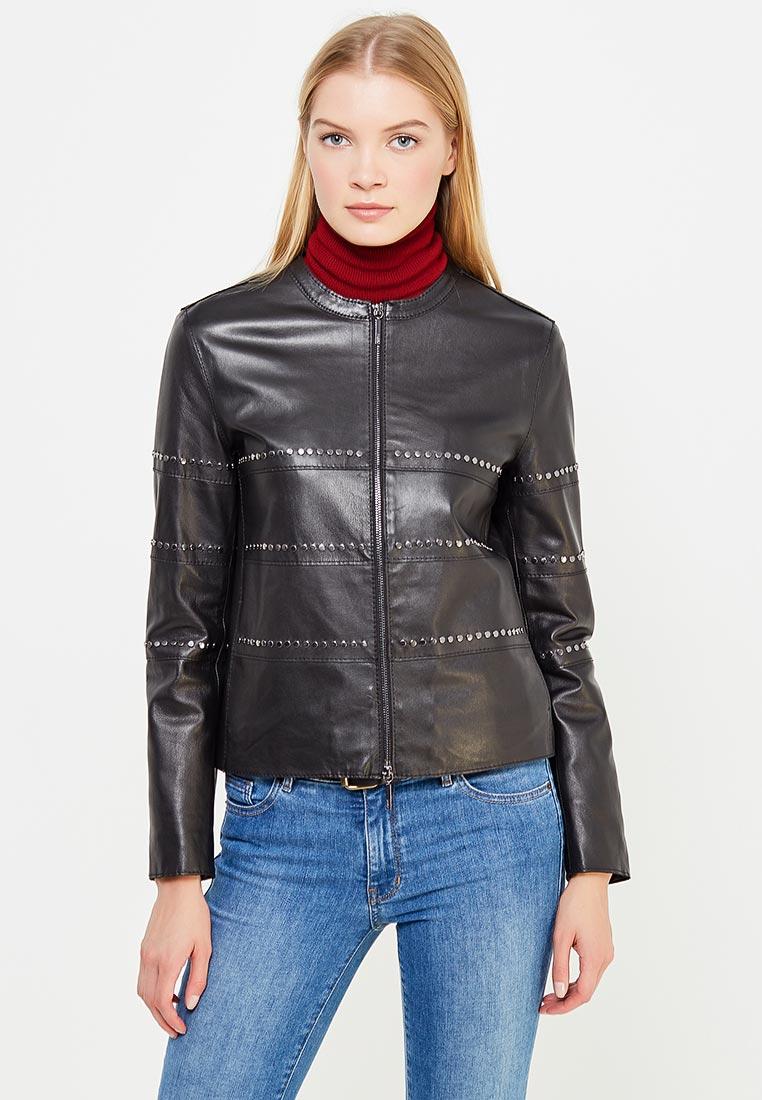 Кожаная куртка Armani Jeans (Армани Джинс) ZFB05P ZFP04