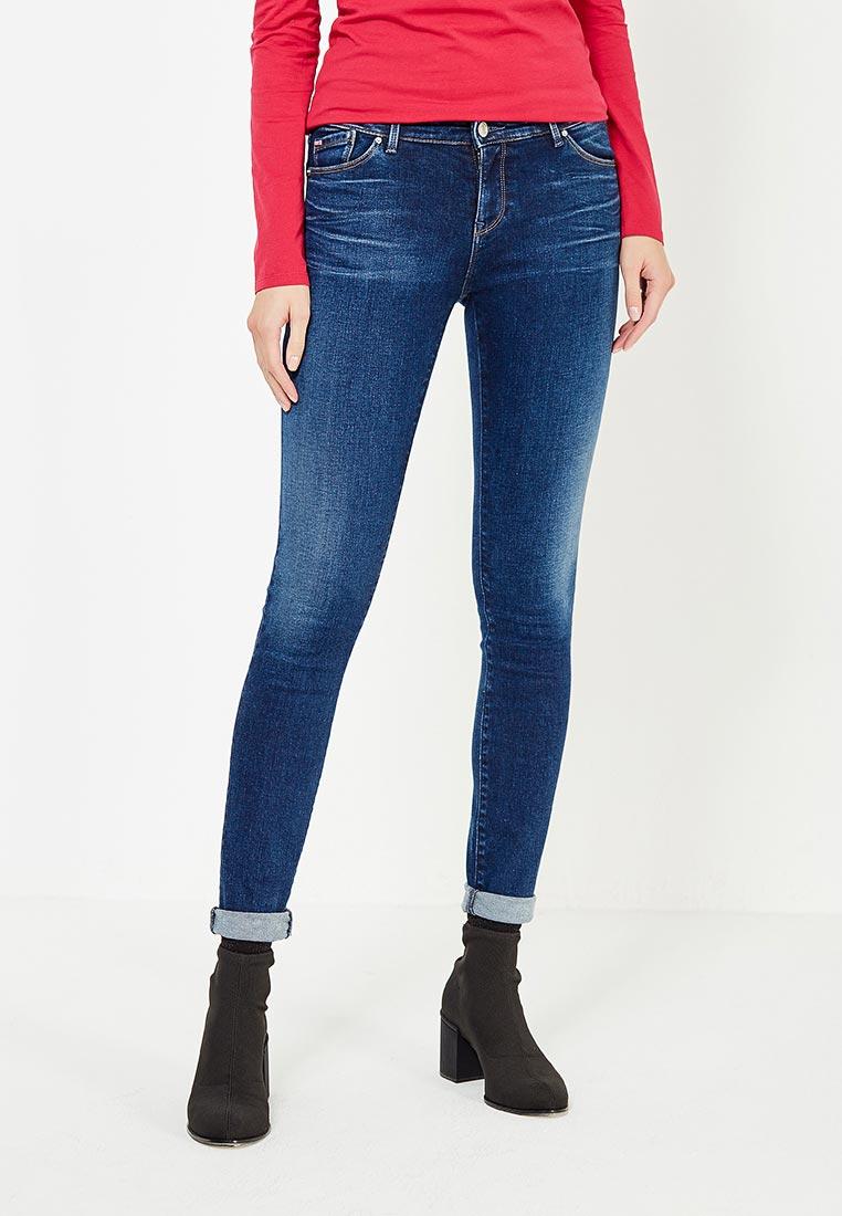 Зауженные джинсы Armani Jeans (Армани Джинс) 6Y5J23 5D2IZ