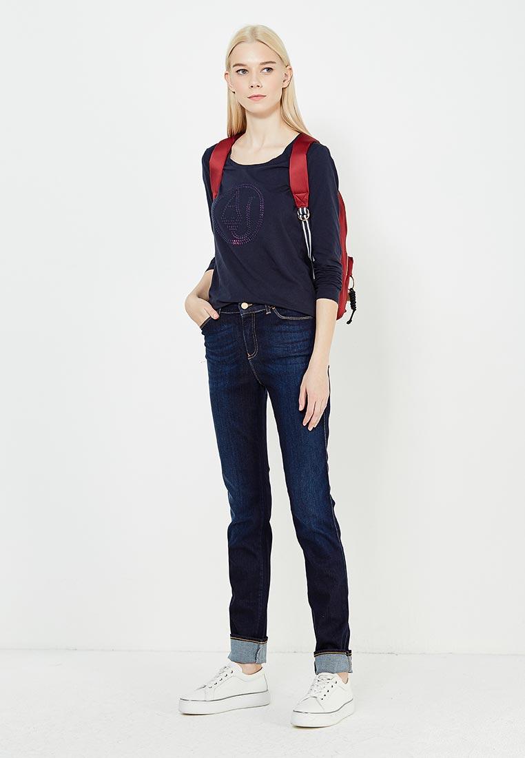 Футболка с длинным рукавом Armani Jeans (Армани Джинс) 6Y5T46 5JABZ