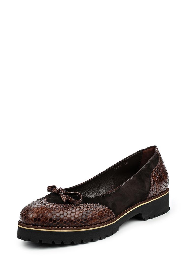 Туфли на плоской подошве Ascalini R3974