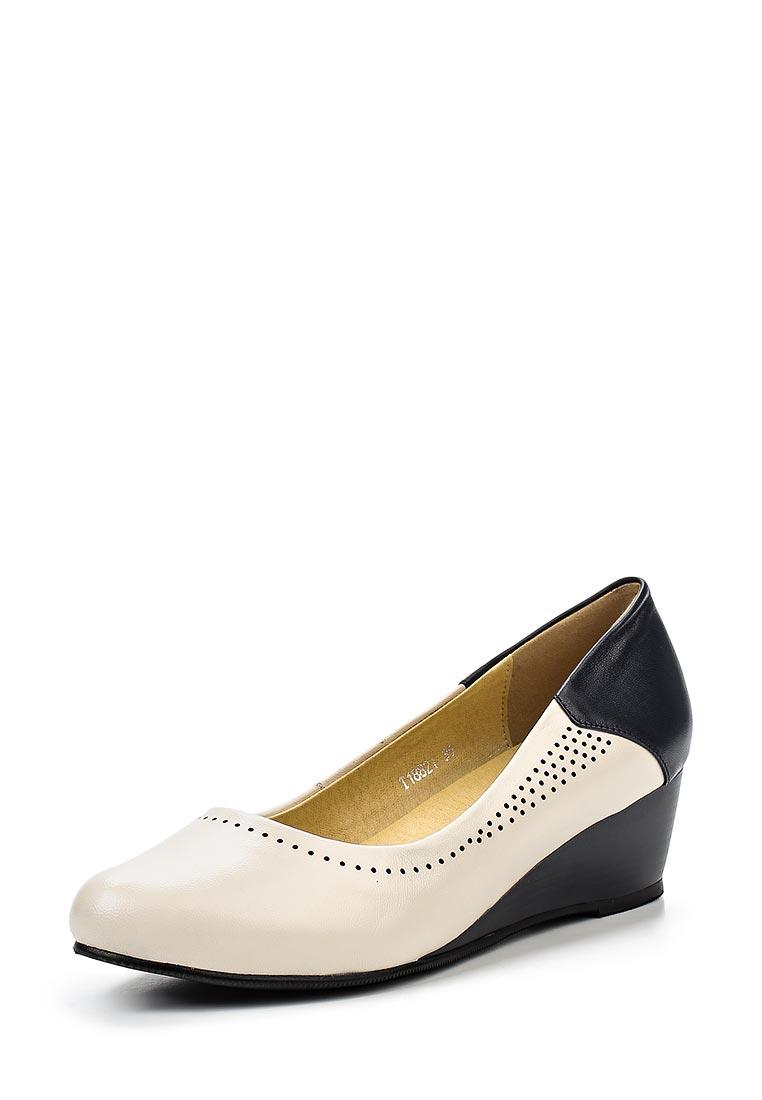 Туфли на плоской подошве Ascalini W18821