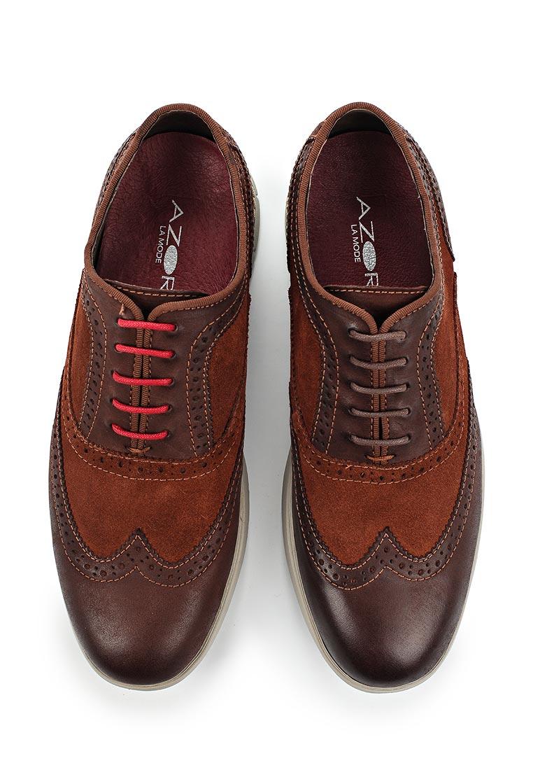 Мужские туфли AZOR ZM 3784 BERGAMO: изображение 4