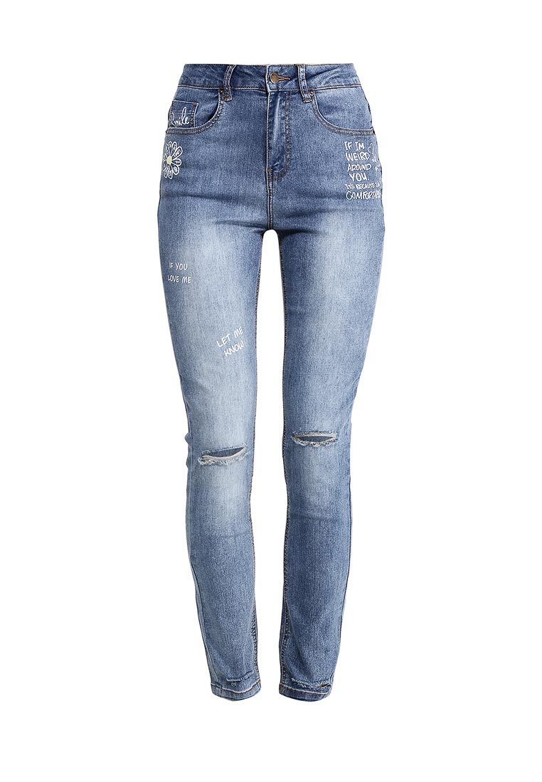 Зауженные джинсы Befree (Бифри) 1711322755