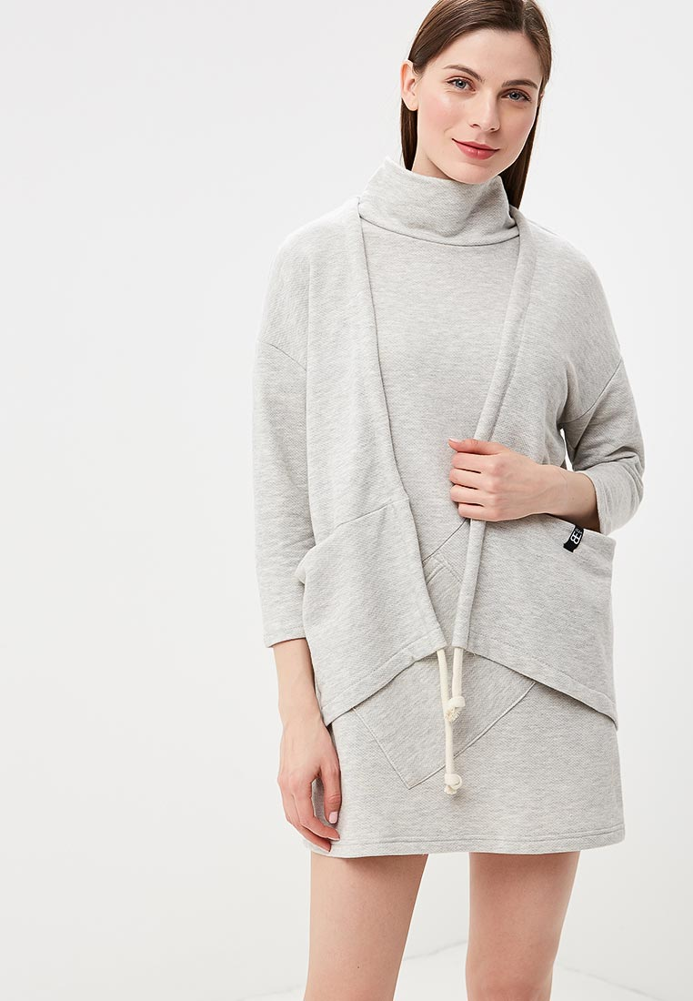 Кардиган BeWear B039-light grey