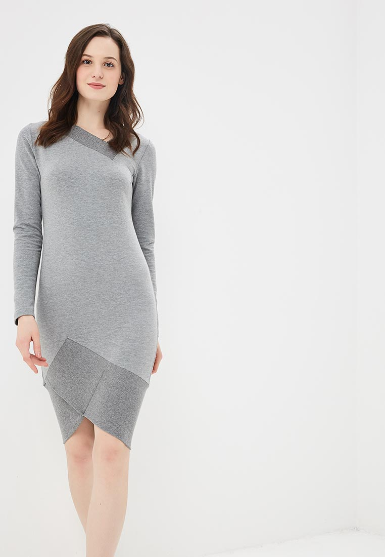 Платье BeWear b007-grey