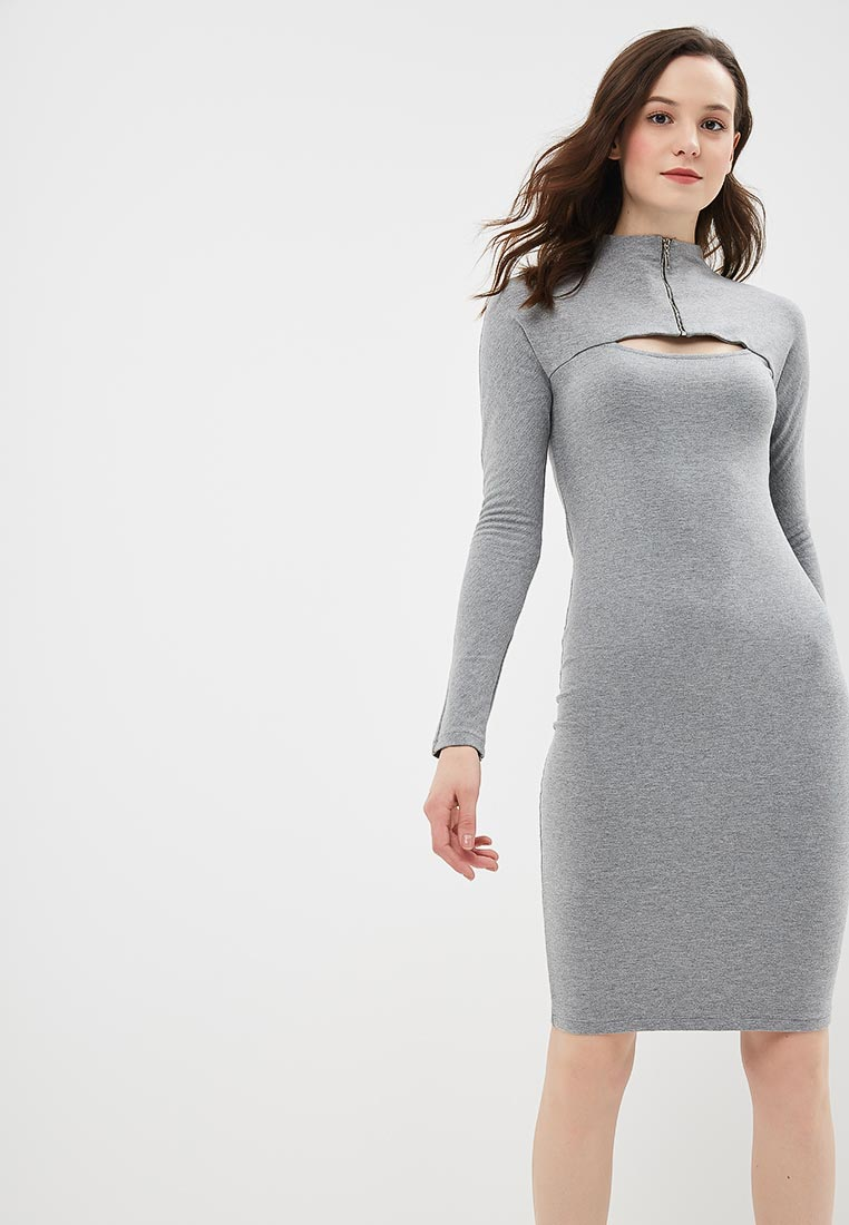 Платье BeWear b008-grey