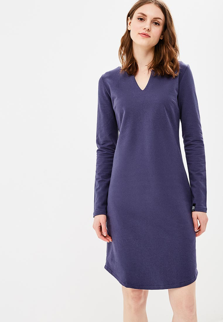 Вязаное платье BeWear b017-blue