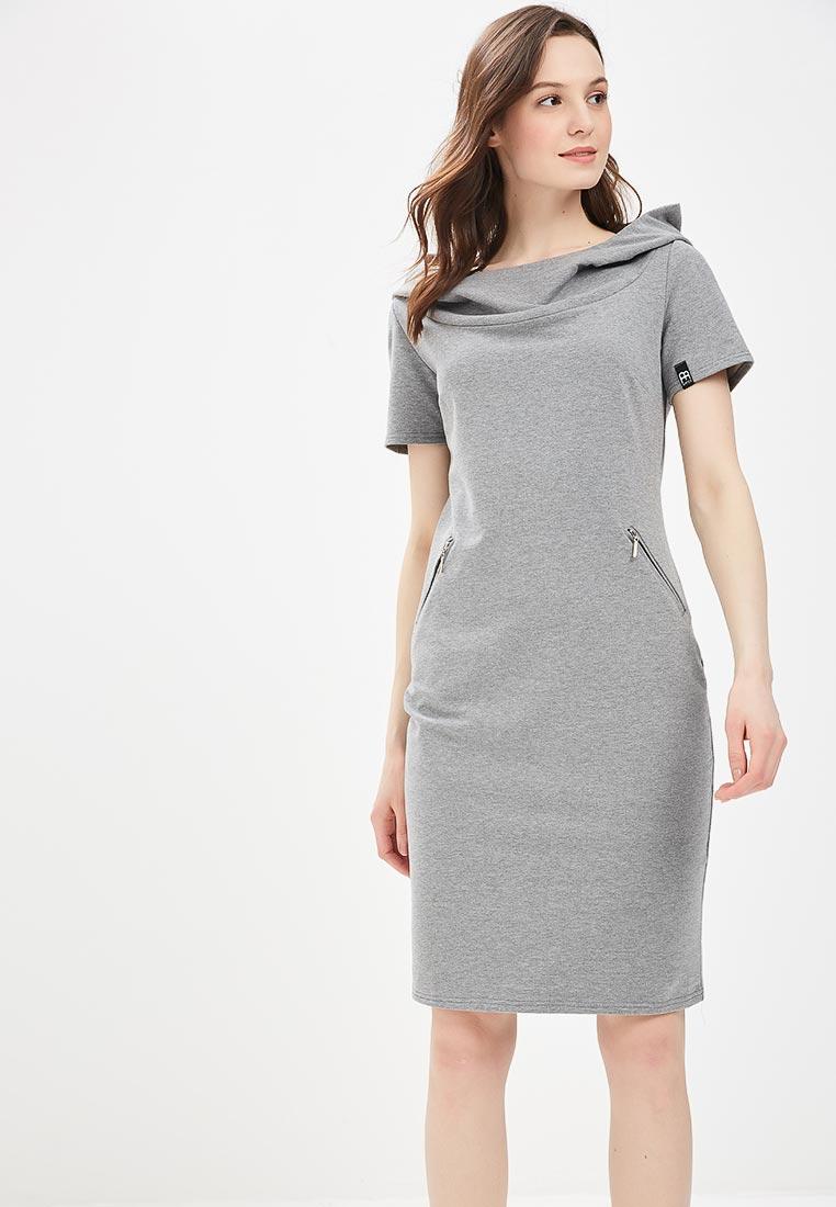 Платье BeWear b028-grey