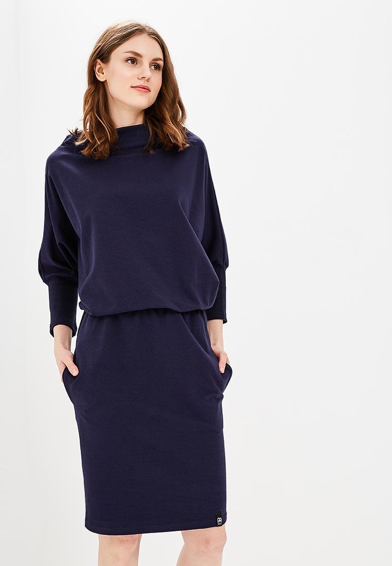 Платье BeWear B032-navy blue