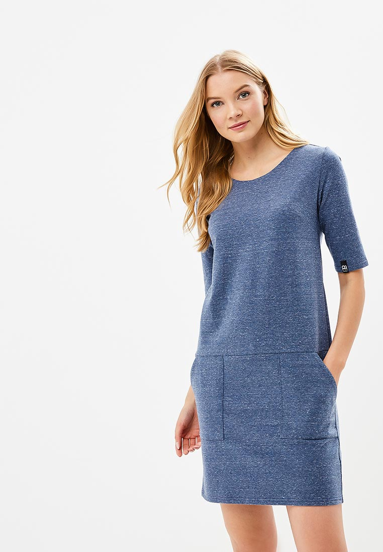 Платье BeWear B033-navy blue