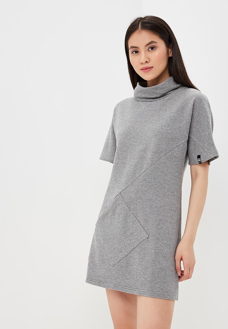 Платье BeWear B051-grey