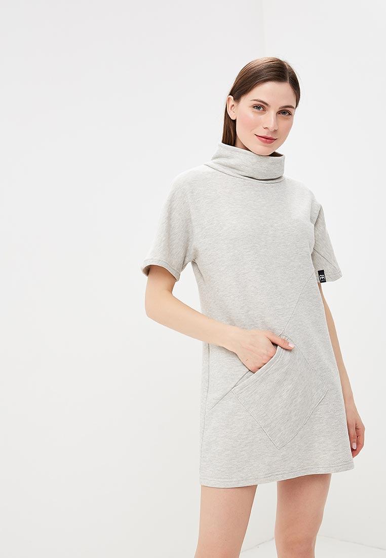 Платье BeWear B051-light grey