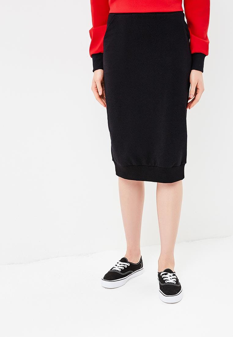 Узкая юбка BeWear B031-black