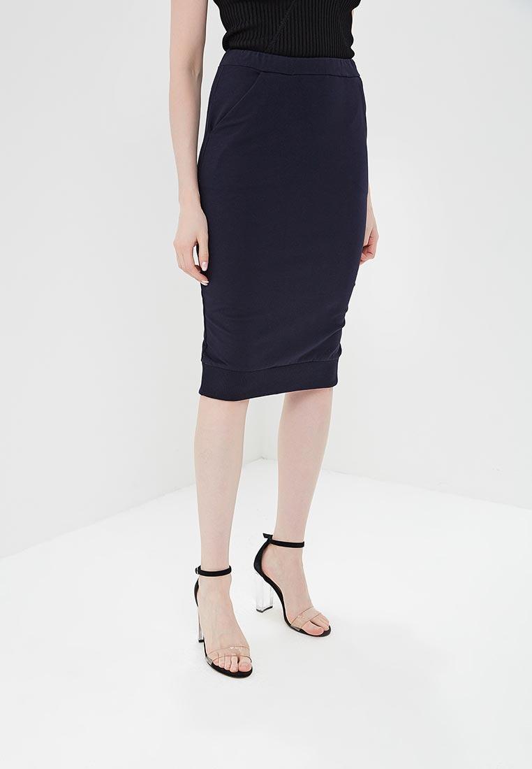 Узкая юбка BeWear B031-navy blue