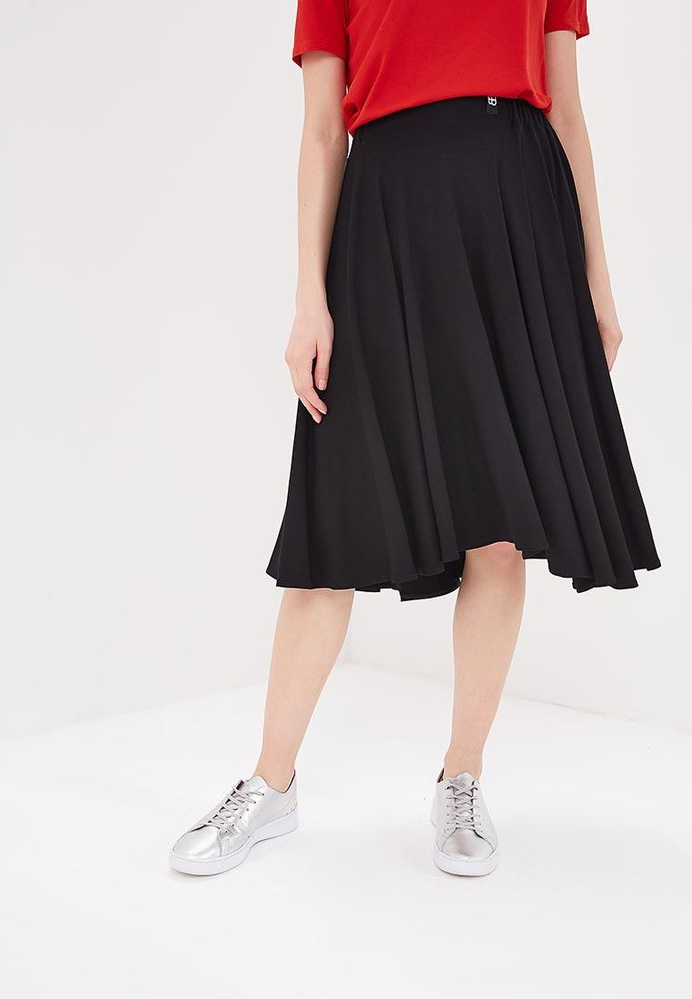 Широкая юбка BeWear B037-black