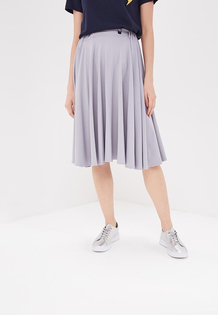 Широкая юбка BeWear B037-grey