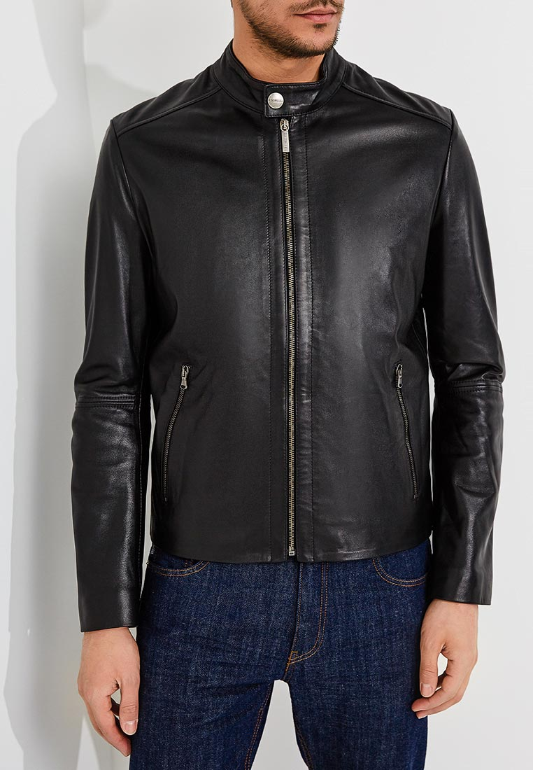 Кожаная куртка Bikkembergs C H 033 00 D 1140