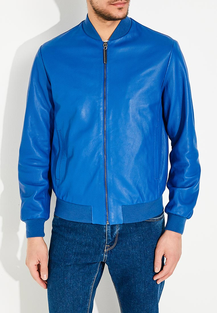 Кожаная куртка Bikkembergs C H 034 00 D 1141