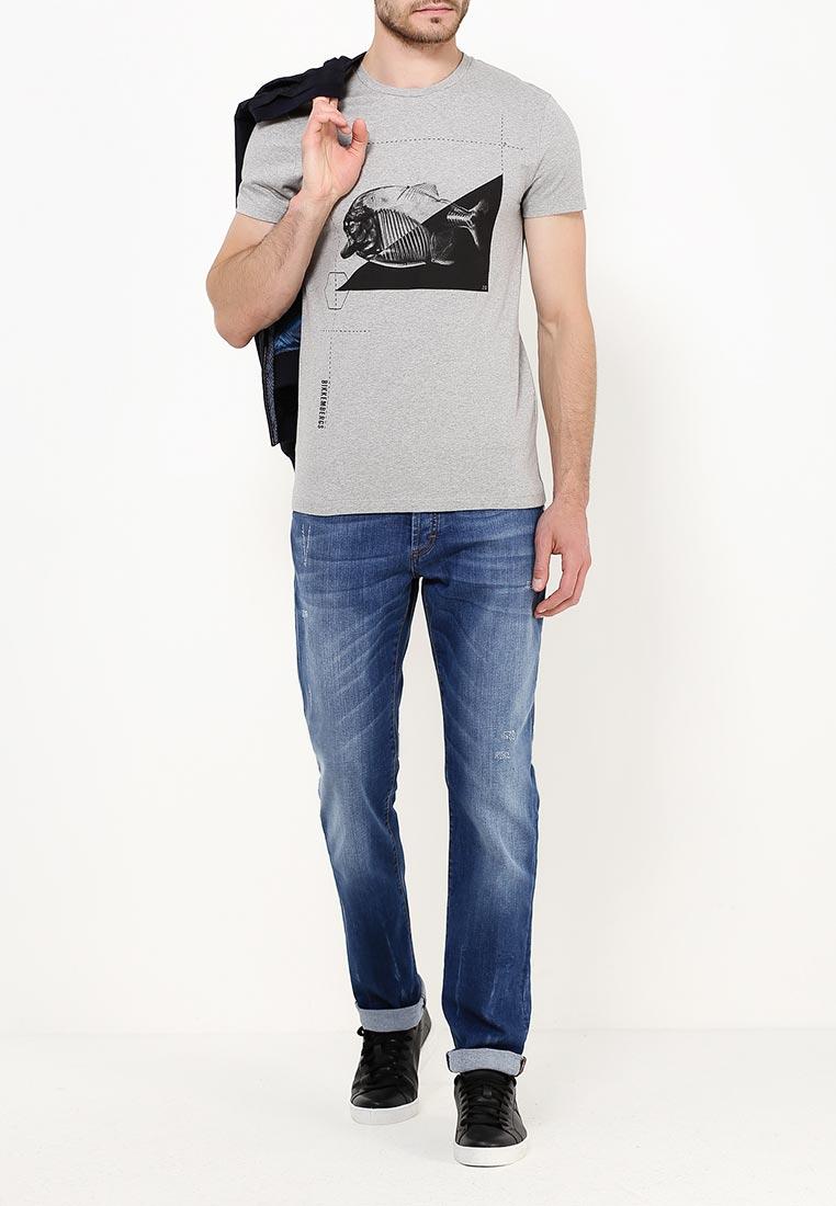 Мужские прямые джинсы Bikkembergs cq61b: изображение 10