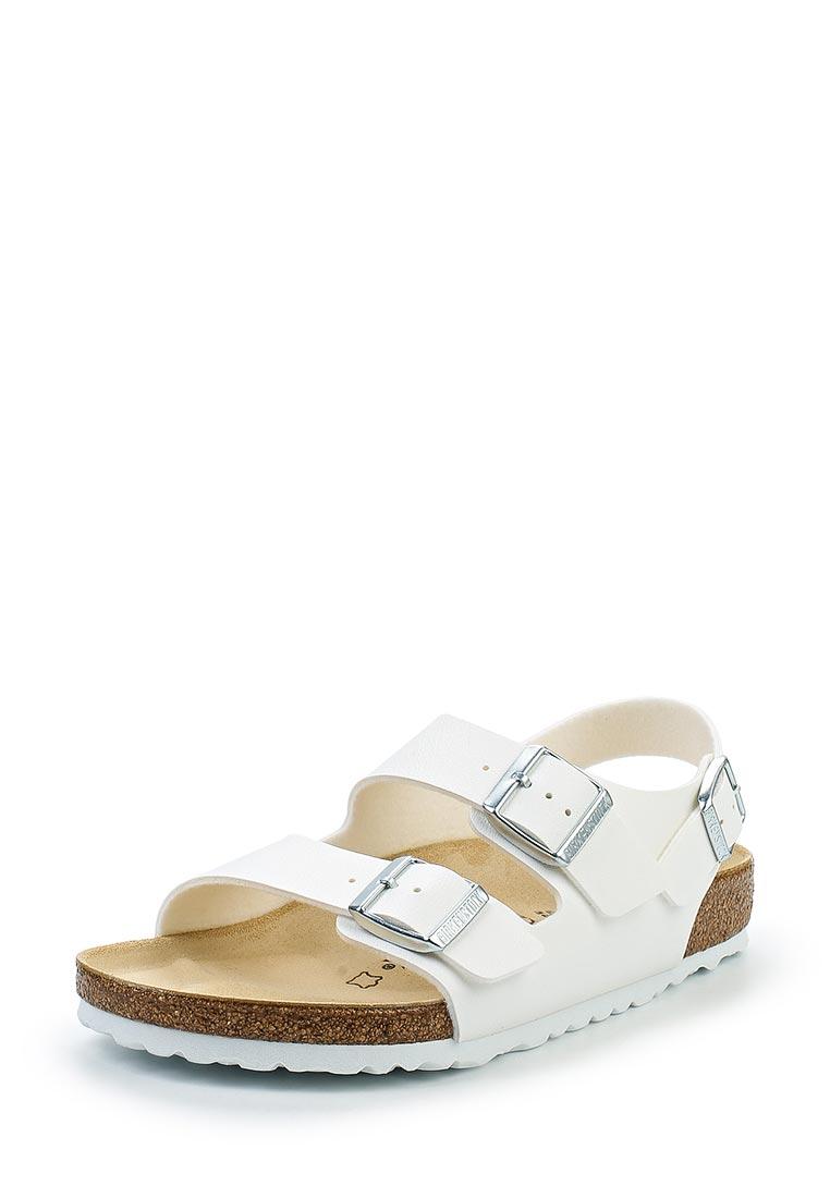Женские сандалии Birkenstock Milano BF Weiß