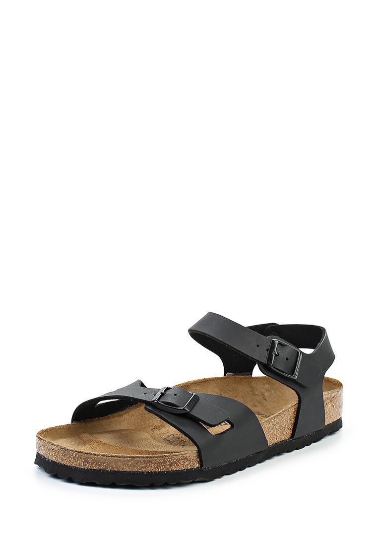 Женские сандалии Birkenstock Rio BF Schwarz