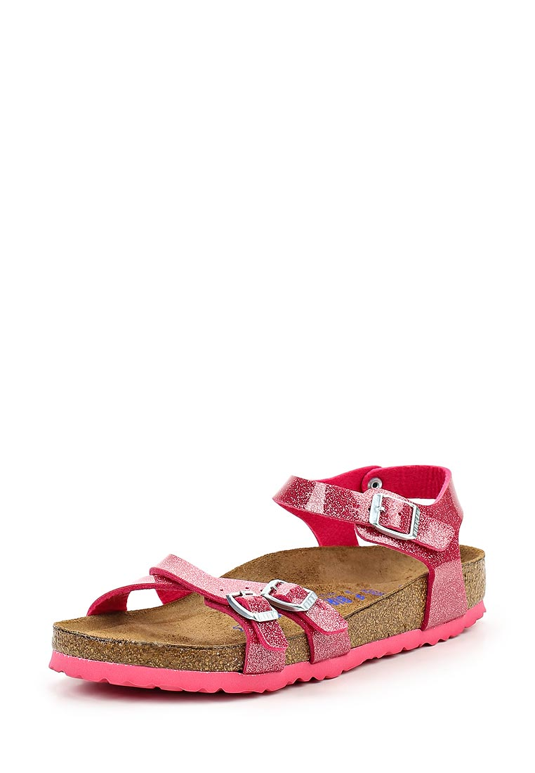 Женские сандалии Birkenstock Kumba BF SFB  Magic Galaxy Bright Rose