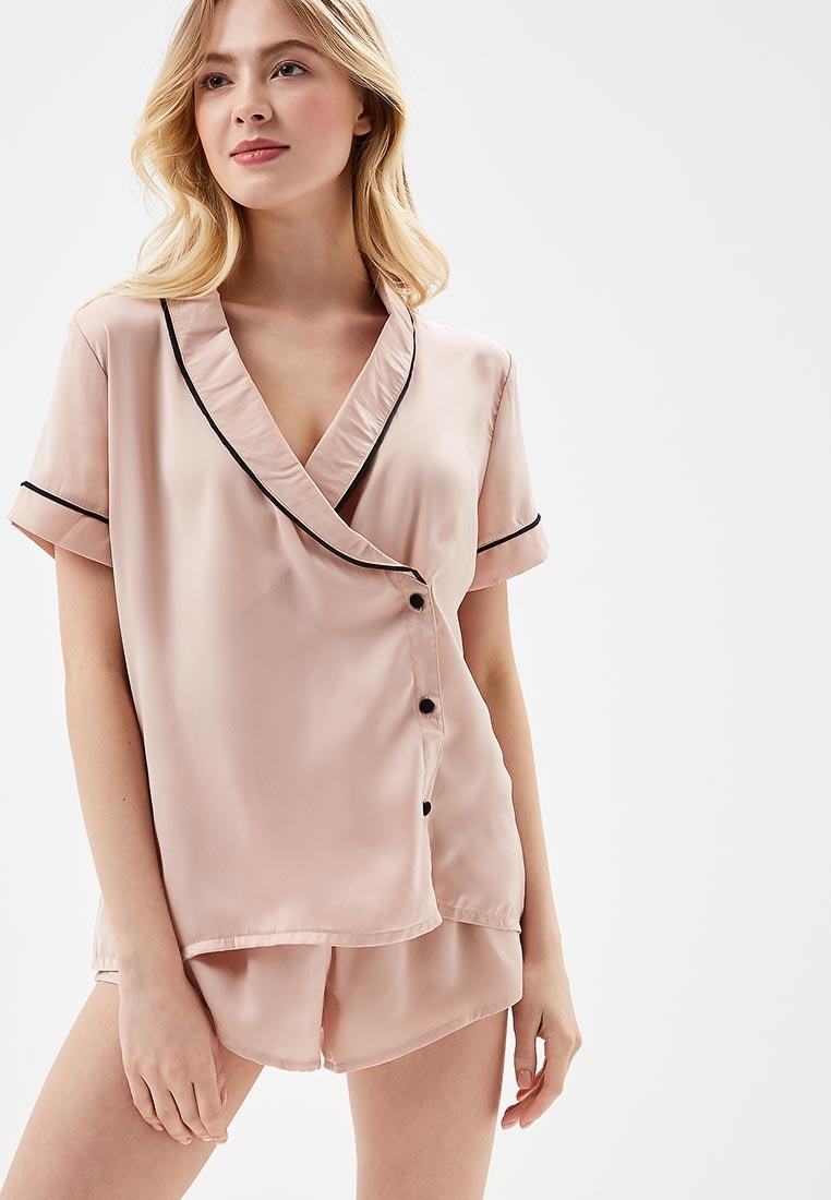 Пижама Bluebella 40320/rose dust/black