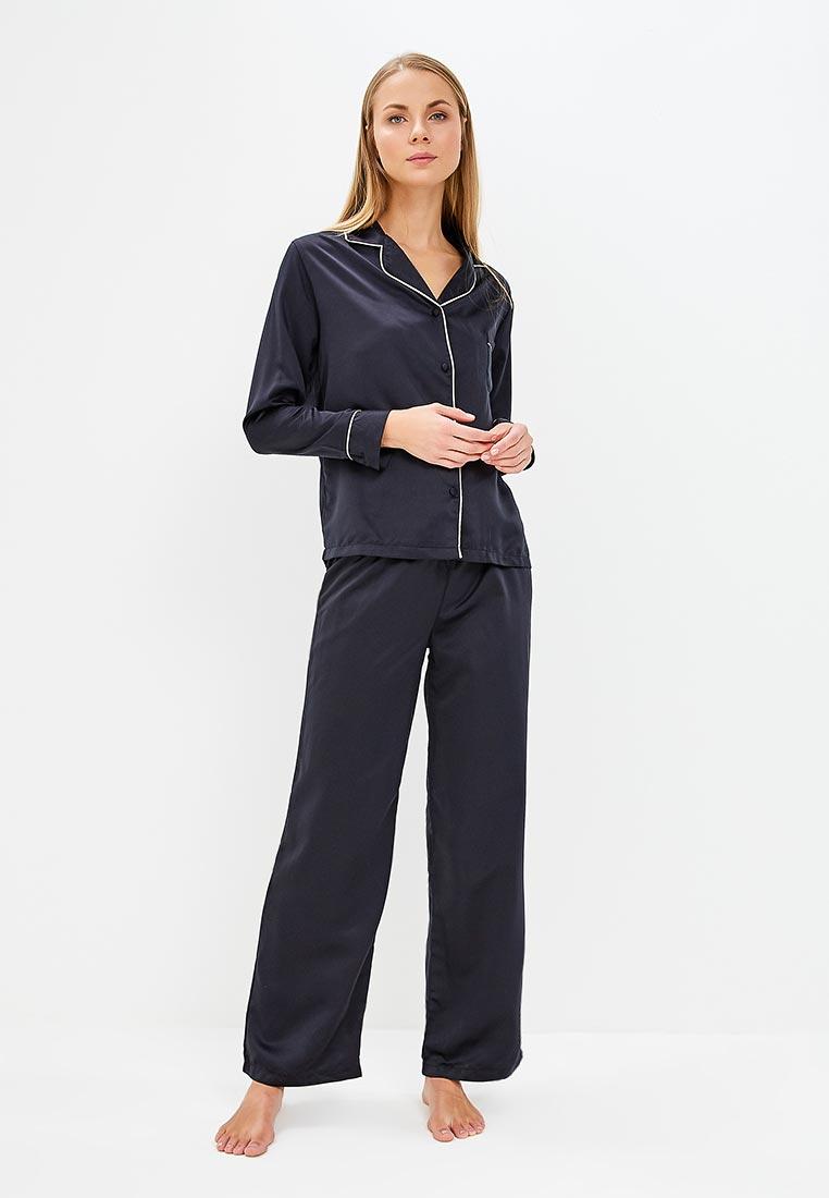 Пижама Bluebella 32719/Black/Pale pink