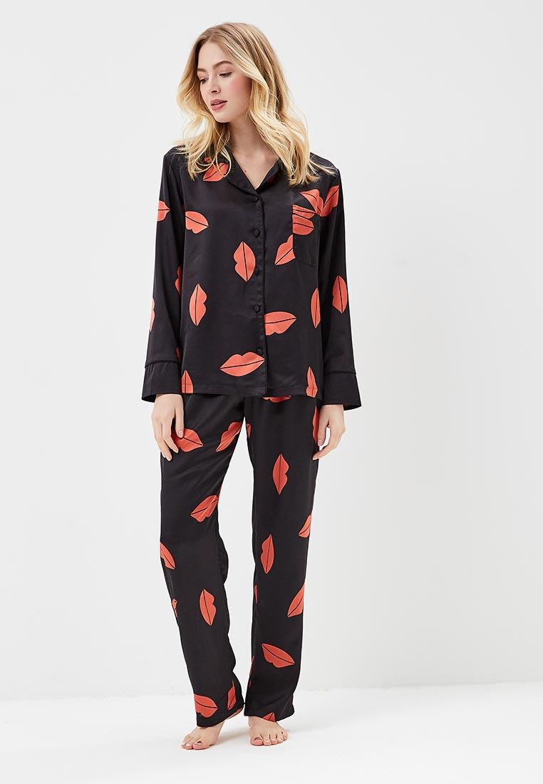 Пижама Bluebella 40215/black/red