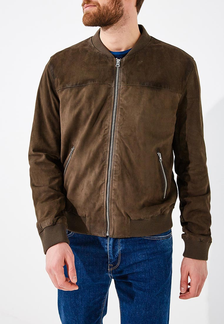 Кожаная куртка Blouson mn071