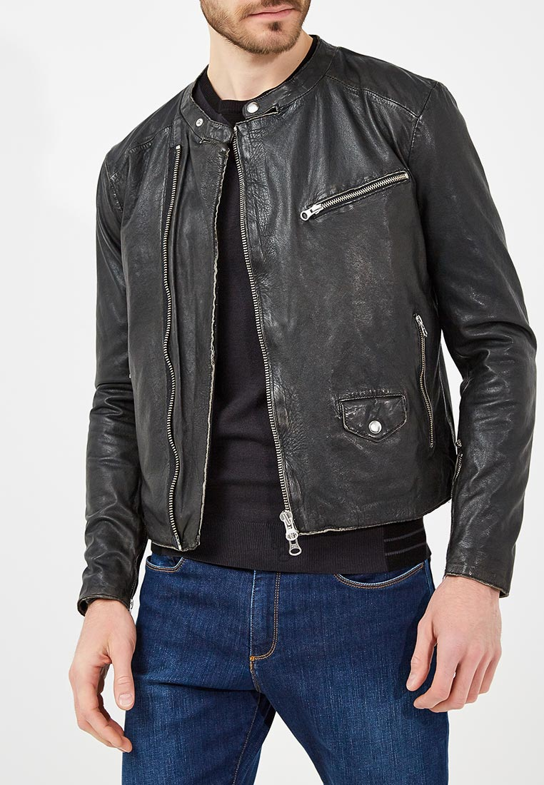 Кожаная куртка Blouson mn132