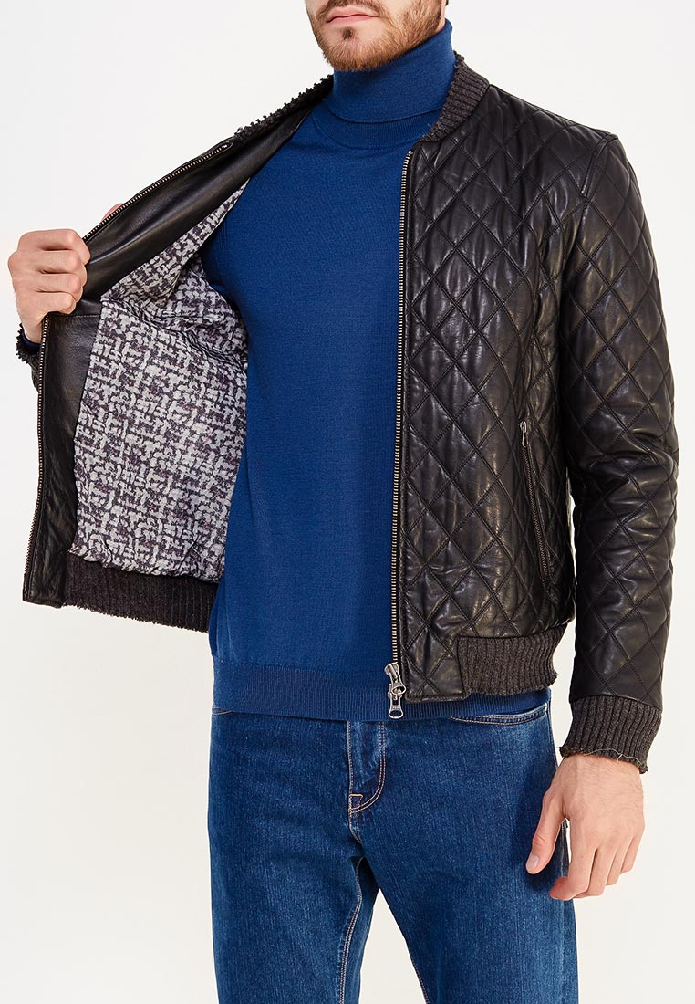 Кожаная куртка Blouson MN093: изображение 5