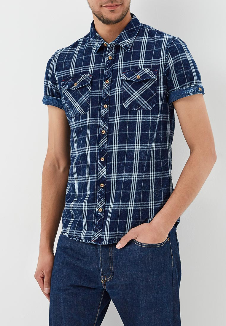 Рубашка с коротким рукавом Blend (Бленд) 20705792