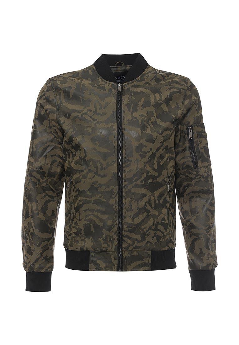 Кожаная куртка B.Men B020-W38