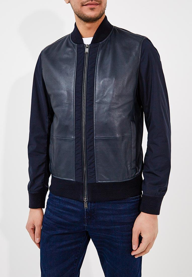 Кожаная куртка Boss Hugo Boss 50382334