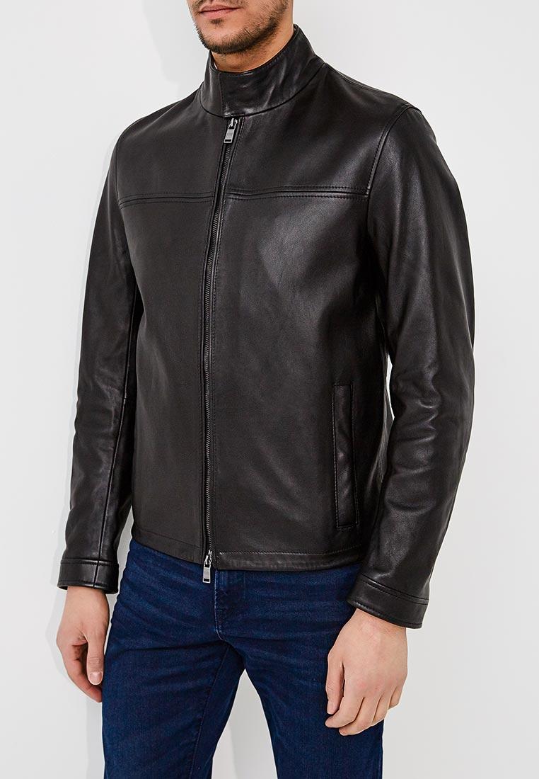 Кожаная куртка Boss Hugo Boss 50382333