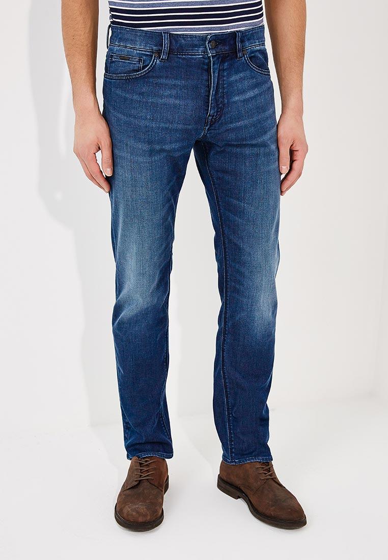 Мужские прямые джинсы Boss Hugo Boss 50384745