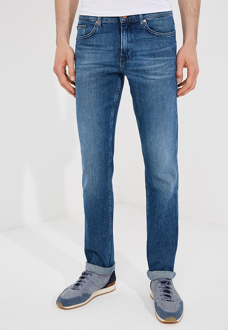 Зауженные джинсы Boss Hugo Boss 50389821