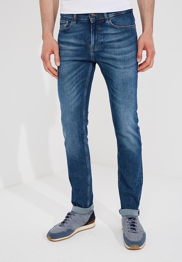 Зауженные джинсы Boss Hugo Boss 50389629
