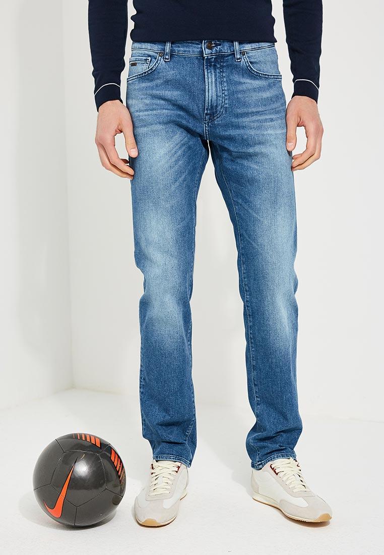 Мужские прямые джинсы Boss Hugo Boss 50389628
